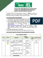 Processo Seletivo SENAI30-2013