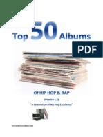 Top 50 Albums of Hip Hop & Rap
