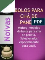 Bolo Cha de Panela