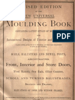 New Universal Moulding Book, 1891