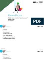 Future Focus Ronan Lyons Edinburgh 11 June