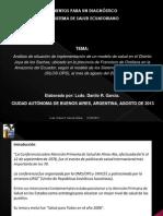 ELEMENTOS PARA UN DIAGNÓSTICO DEL SISTEA DE SALUD ECUATORIANO .pptx