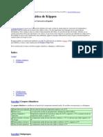Clasificacion Climas Grupos y Subgrupos