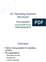 Operating Systems Structures