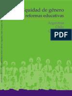 527. Equidad de género y reformas educativas. Argentina, Chile, Colombia, Perú