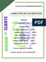Serv. Cliente Unidad 4