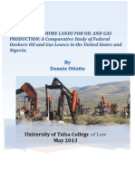 Leasing of Onshore Lands for Oil and Gas Production