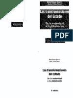 Cs Pol Las Transformaciones del Estado - BONETTO - PIÑERO