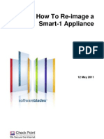 Re-Image a Smart-1 Appliance