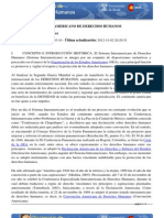 Sistema Interamericano de Derechos Humanos (Diccionario de Derechos Humanos)