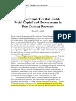 Social Post Disaster 1