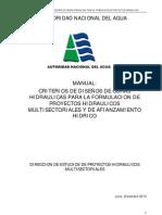 Criterios de Diseños de Obras Hidraúlicas - ANA-DEPHM