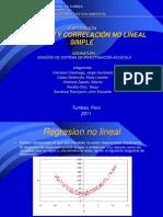 Regresion y Correlacion No Lineal