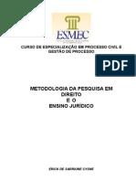 Apostila Metodologia Erick Cysne