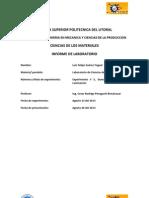 Practica de laboratorio de ciencias de materiales dureza rockwell y laminación