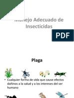 Manejo Adecuado de Insecticidas