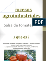 Procesos agroindustriales