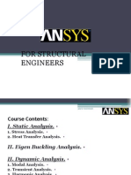 ANSYS for Structural Engineers