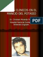 Aaaaacasos Clinicos en El Manejo Del Potasio 8 12 2012 (1)