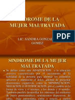 Sindrome de La Mujer Maltratada -Arequipa