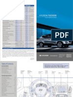 Hyundai Tucson Quick Reference Guide