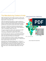 The Manufacturing Centers of India