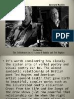 Leonard Baskin & Ted Hughes