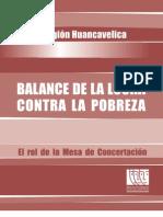 HUANCAVELICA Web Balance Lucha Contra La Pobreza