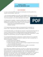 Preguntas Sobre La Casa de Bernarda Alba Bachillerato