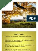 Clase 8 El Clima y Atmosfera