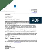 Contoh Surat Media Invitation