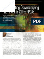 Implementing Downsampling FIR Filters in Xilinx FPGAs