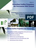 Fasilitas Pengolahan dan Pemrosesan Akhir Sampah dalam Penanganan Sampah