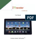 MiTraveler 10 User Manual