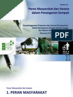 Peran Masyarakat dan Swasta dalam Penanganan Sampah