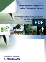 Pembinaan Pengawasan dalam Penanganan Sampah