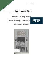 Garcia Gual, Carlos - Historia Del Rey Arturo