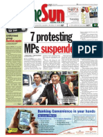 thesun 2009-06-16 page01 7 protesting mps suspended