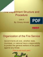 PS HSES 4 FireDepartmentStructureAndProcedurePowerPoint