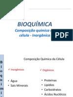 Bio - Bioquimica- Inorgânicos