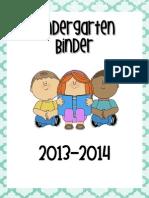 Kinder Binder