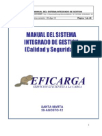 Manual de Sistema Integrado de Gestion