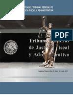 REVISTA DEL TRIBUNAL FEDERAL DE JUSTICIA FISCAL Y ADMINISTRATIVA JULIO DE 2013. NÚM. 24