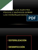ACCIÓN DE LOS AGENTES FÍSICOS Y QUÍMICOS SOBRE