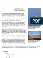 Wind Power - Wikipedia, The Free Encyclopedia