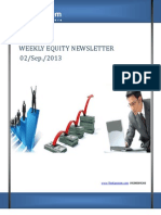 Weekly Equity Newsletter 2-September