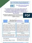 Factores asociados al rendimiento académico - Montero, Villalobos, Valverde