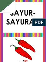 Slaid Sayur-Sayuran