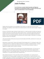 Wole Soyinka's British Problem - The Daily Beast