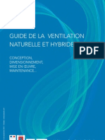 Guide de La Ventilation Naturelle Et Hybride VNHy AVEMS